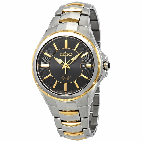 Seiko SNE412 Coutura Mens Eco-Drive Watch
