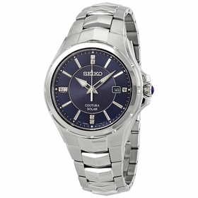 Seiko SNE443 Coutura Mens Eco-Drive Watch