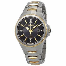 Seiko SNE444 Coutura Mens Eco-Drive Watch