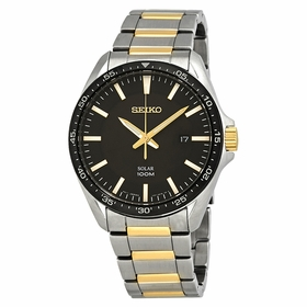 Seiko SNE485 Essentials Mens Eco-Drive Watch