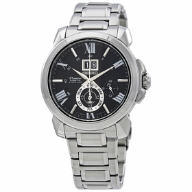 Seiko SNP141 Premier Kinetic Perpetual Calendar Mens Auto-Quartz Watch