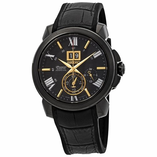 Seiko SNP145 Premier Mens Auto-Quartz Watch