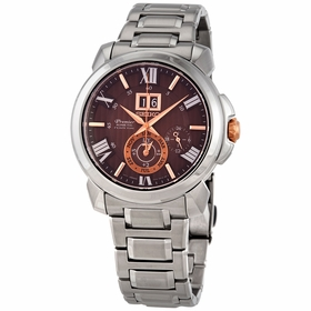 Seiko SNP157 Premier Mens Quartz Watch