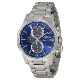 Seiko SSC085 Solar Mens Chronograph Automatic Watch