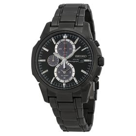 Seiko SSC095 Solar Mens Chronograph Eco-Drive Watch