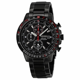 Seiko SSC145 Solar Chronograph Mens Chronograph Quartz Watch