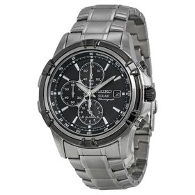 Seiko SSC147 Solar Chronograph Mens Chronograph Quartz Watch
