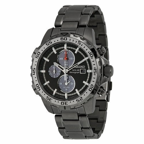 Seiko SSC301 Solar Chronograph Mens Chronograph Eco-Drive Watch