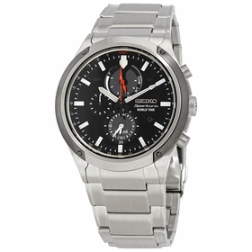 Seiko SSC479P1 Sportura Mens Chronograph Eco-Drive Watch