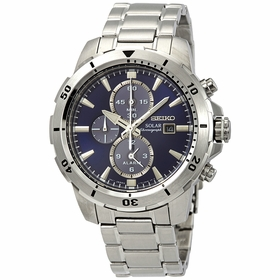 Seiko SSC555P1 Solar Mens Chronograph Eco-Drive Watch