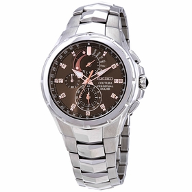 Seiko SSC561 Coutura Mens Chronograph Eco-Drive Watch