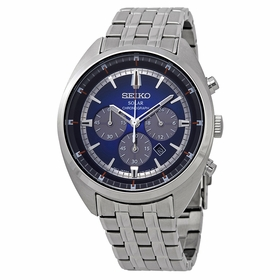 Seiko SSC567 Recraft Solar Mens Chronograph Quartz Watch