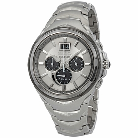 Seiko SSC627 Coutura Mens Chronograph Eco-Drive Watch
