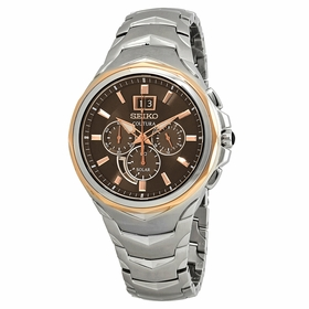 Seiko SSC628 Coutura Mens Chronograph Eco-Drive Watch