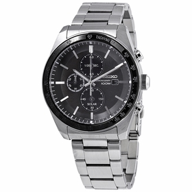 Seiko SSC715 Solar Mens Chronograph Eco-Drive Watch