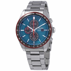 Seiko SSC717 Solar Mens Chronograph Eco-Drive Watch