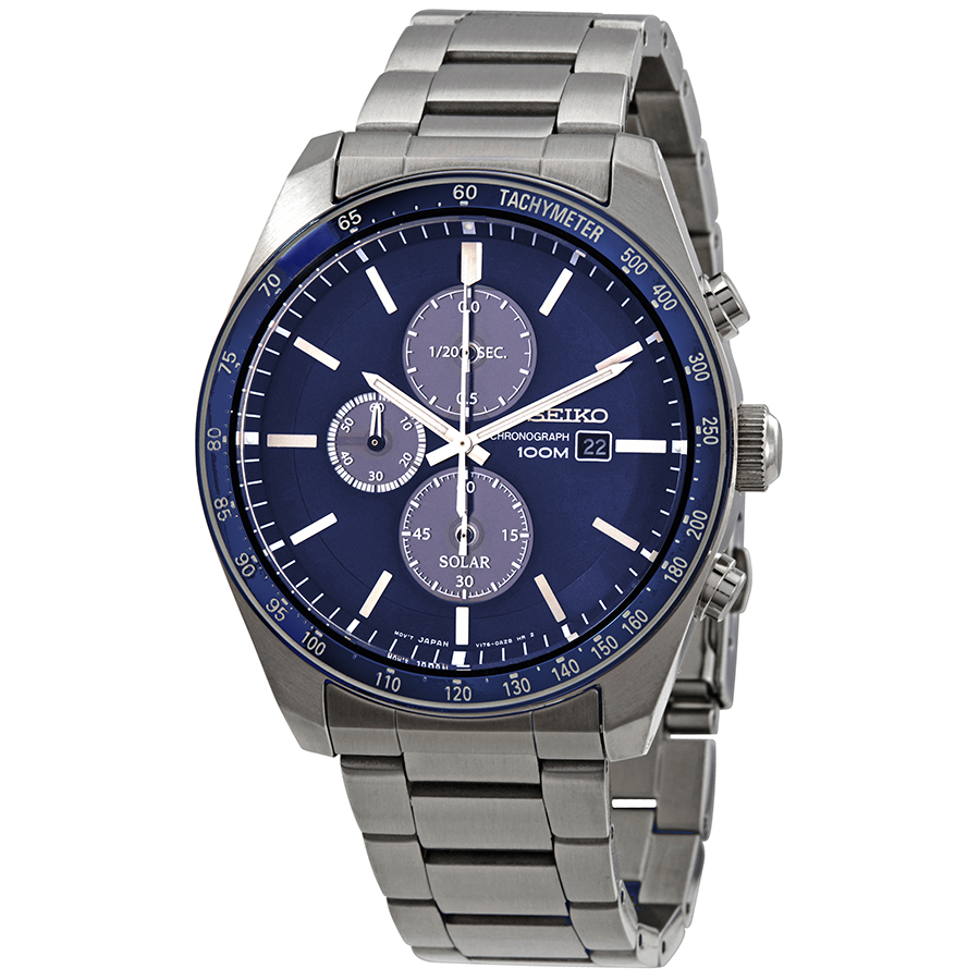 33606cbe8 Seiko SSC719P1 Solar Mens Chronograph Quartz Watch