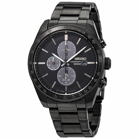 Seiko SSC721 Solar Mens Chronograph Quartz Watch