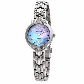 Seiko SUP353 Tressia Sollar Ladies Eco-Drive Watch