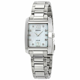 Seiko SUP377 Diamonds Ladies Eco-Drive Watch