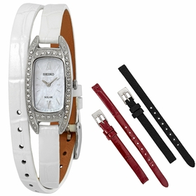 Seiko SUP391  Ladies Eco-Drive Watch
