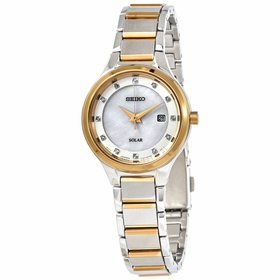 Seiko SUT318 Solar Ladies Eco-Drive Watch
