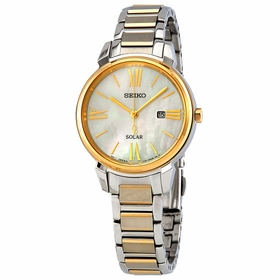 Seiko SUT324 Solar Ladies Eco-Drive Watch