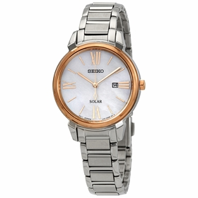 Seiko SUT326 Solar Ladies Eco-Drive Watch