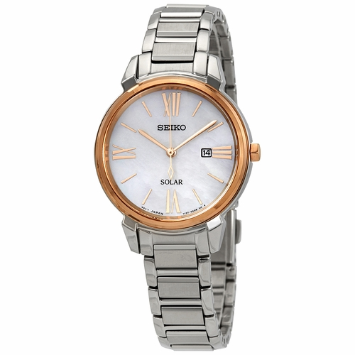 Seiko SUT326 Solar Ladies Quartz Watch