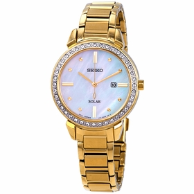 Seiko SUT330 Solar Ladies Quartz Watch