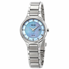 Seiko SUT351 Diamonds Ladies Eco-Drive Watch