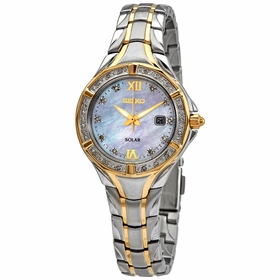 Seiko SUT372 Solar Ladies Eco-Drive Watch