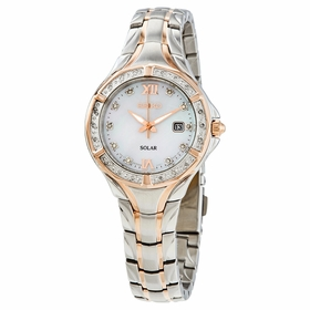 Seiko SUT374 Solar Ladies Eco-Drive Watch