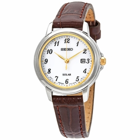 Seiko SUT375 Solar Essentials Ladies Quartz Watch