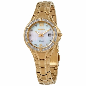 Seiko SUT380 Solar Ladies Eco-Drive Watch