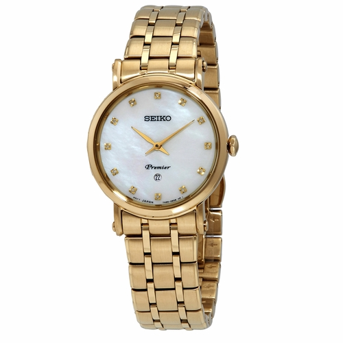 Seiko SXB434P1 Premier Ladies Quartz Watch