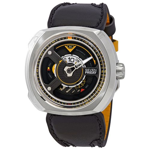 Sevenfriday W-Series Automatic Black Dial Men's Watch