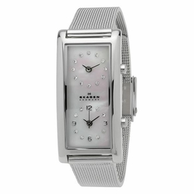 Skagen 20SSSMP Petra Dual Time Ladies Quartz Watch