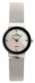 Skagen 358XSSSMPD Diamonds Ladies Quartz Watch