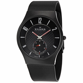 Skagen 805XLTBB Titanium Mens Quartz Watch