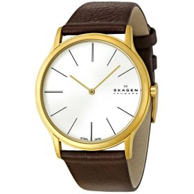 Skagen 858XLGLD Steel Mens Quartz Watch