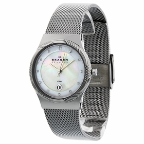 Skagen 880LSSS Steel Ladies Quartz Watch