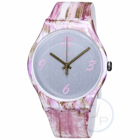 Swatch SUOW151 Pinkquarelle Unisex Quartz Watch