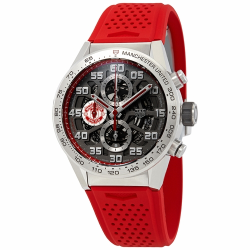 Tag Heuer CAR201M.FT6156 Carrera Manchester United Special Edition Mens Chronograph Automatic Watch