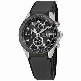 Tag Heuer CAR201W.FT6095 Carrera Mens Chronograph Automatic Watch