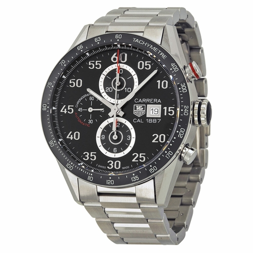 Tag Heuer CAR2A10.BA0799 Carrera Mens Chronograph Automatic Watch