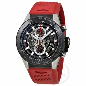 Tag Heuer CAR2A1Z.FT6050 Carrera Mens Chronograph Automatic Watch