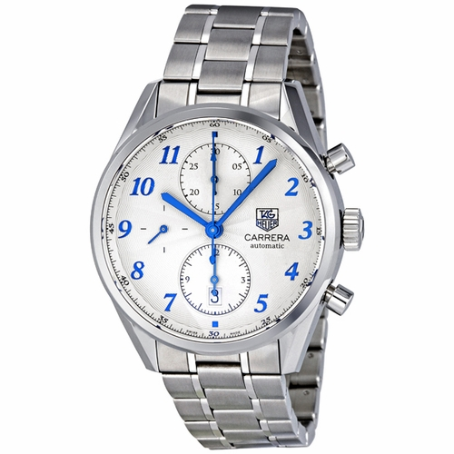 Tag Heuer CAS2111.BA0730 Carrera Heritage Mens Chronograph Automatic Watch
