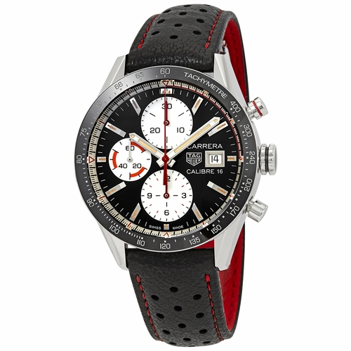 Tag Heuer CV201AP.FC6429 Carrera Mens Chronograph Automatic Watch