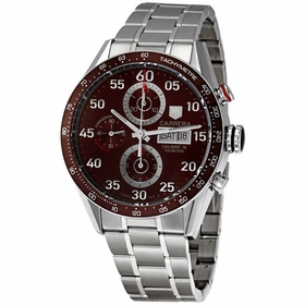 Tag Heuer CV2A12.BA0796 Carrera Mens Chronograph Automatic Watch